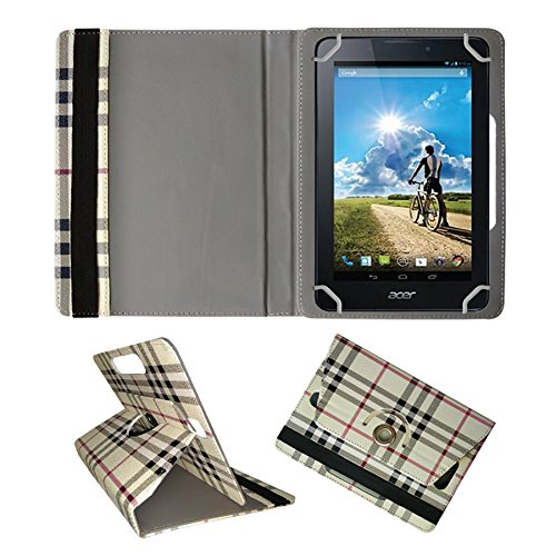 Fastway Rotating 360° Leather Flip Case For Acer Iconia A1-713 8 GB -Cream  available at amazon for Rs.289