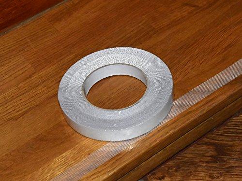 Anti-Rutsch-Band für Treppen, Duschen & Badewannen 10m x 2cm -K&B Vertrieb- transparent selbstklebend 021 (3 Rollen)