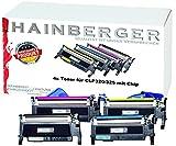 Toner Set für CLP320 (alle 4 Farben), 4 Stück XXL  CLT-K4072S, CLT-C4072S, CLT-M4072S, CLT-Y4072S