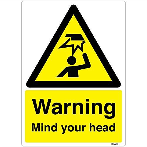 Attenzione alla testa, Vinile autoadesivo, A5