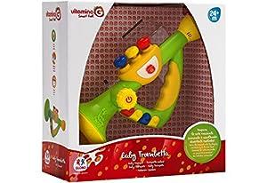 Globo Toys Globo 5176 Vitamina_G - Trompeta con música y Sonido (25,5 cm)