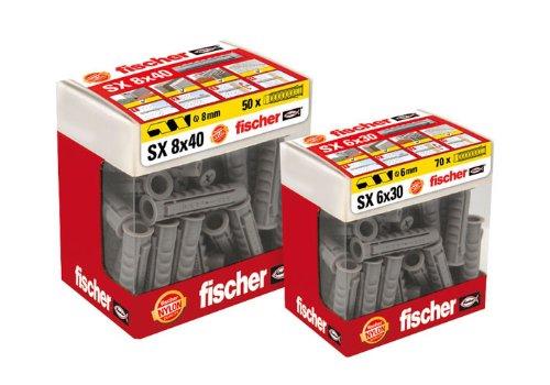 Fischer 768BSX5B SX-Dübel, 5x25, 80 Stück