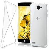 moex LG L Bello 2 | Hülle Silikon Transparent Klar Clear Back-Cover TPU Schutzhülle Dünn Handyhülle für LG L Bello 2 Case Ultra-Slim Silikonhülle Rückseite