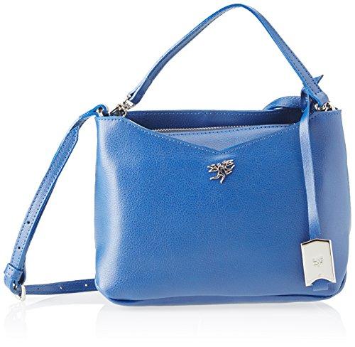 piero guidi 210791082, Borsa a Tracolla Donna, 24,5 x 17,5 x 11 cm (W x H x L) Blu (Notte Scura)