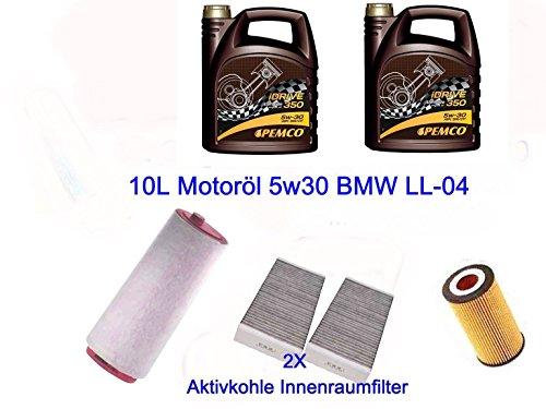 Filter pacchetto Inspektionskit BMW 5Touring E60E61525530d xd xDrive - E60 Filtro Olio Kit