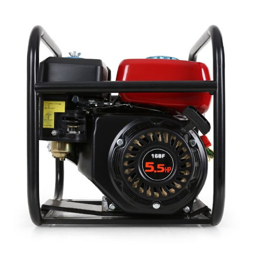 EBERTH 5,5 PS 2 Zoll Wasserpumpe Benzin Motor Pumpe - 8
