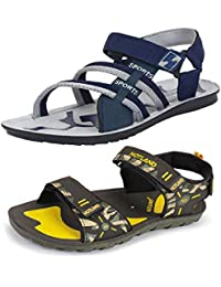 4549eb7f97cd ... Shoes   Sandals   Floaters   Last 30 days. Bersache Men s Casual Daily  Wear Combo Pack of 2 Canvas Multi-Color Sandal   Floater