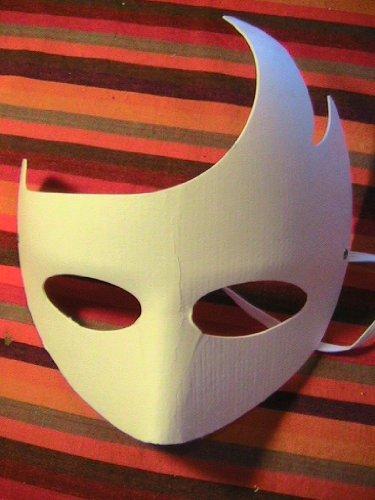 Blank Welle Masken - 50 (Halloween Paper Mache Masken)
