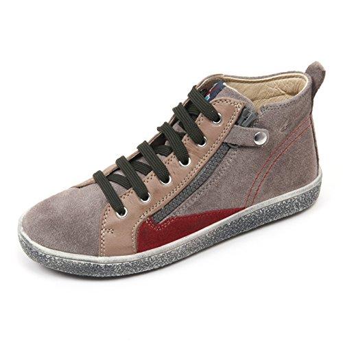 C2698 sneaker bimbo NATURINO scarpa tortora/grigio shoe kid grigio/tortora