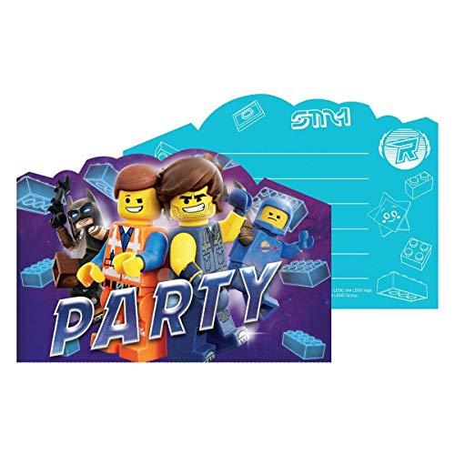 Lego Movie 2: Juego de 16 Tarjetas de invitación para ...