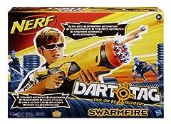 Idea Regalo - Nerf 38122148 - Dart Tag Swarmfire