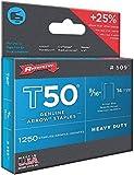 T50 Staples Box 1250 14mm 9/16in