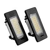 Sedeta® 2x LED Nummernschild Weiß Xenon Glühbirne Car Kit Ersatz für BMW E82 E88 E90 E92 E39 E60 E61 M5 Neu
