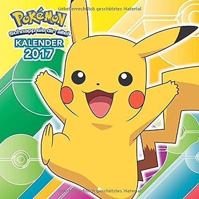 Pokémon: Wandkalender 2017 por Panini Verlags Gmbh