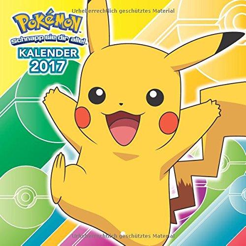 Pokémon Wandkalender 2017