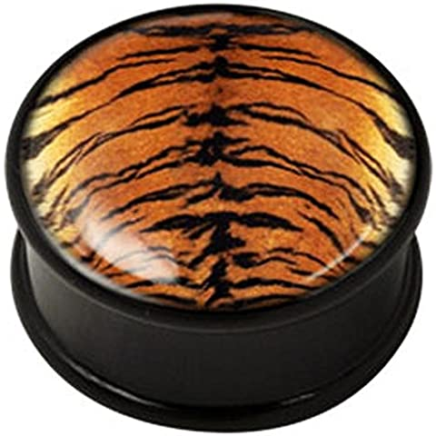 PMMA Ikon spina carne - Ikon Plug Tiger pelle 18mm