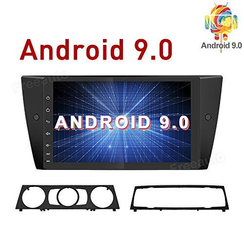 Freeauto - Radio estéreo para Coche Android 9.0 para BMW E90 E91...