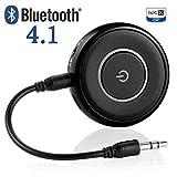 giveet Bluetooth Sender und Empfänger mit 3,5mm Aux Klinke, kabelloses Audio-Streaming Adapter für TV PS4Xbox Laptop Home Sound Auto Stereo-System, Bluetooth 4.1, A2DP, aptX LL