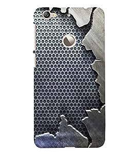 Fuson Premium Back Case Cover Vintage Pattern With black Background Degined For Letv Le 1S