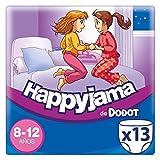 Dodot Happyjama Pañales 8 a 12 años para Niña, Ropa Interior Absorbente, 13 Unidades