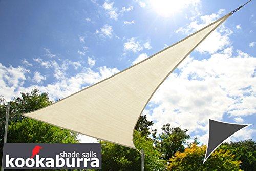 Kookaburra Toldo Vela de Sombra Para Jardín - Resistente al Agua -...