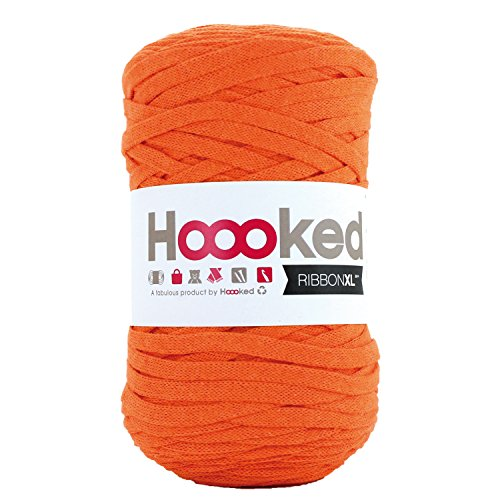 Hoooked Ribbon XL Yarn-Dutch Orange
