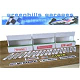 Greenhills Scalextric Slot Car Building Standard Pit Boxes Kit 1:32 Scale