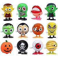 Amosfun Juguete de Fiesta de Halloween Termina Juguetes Novedad Mini Juguetes Regalo de Halloween para Niños, Juego DE 12