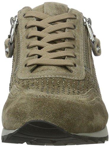 Kennel und Schmenger Schuhmanufaktur Damen Runner Sneakers Grau (Taupe Sohle Grau)