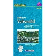 bikeline - Radkarte Vulkaneifel (RPF02) 1 : 75 000, GPS-tauglich mit UTM-Netz, wasserfest/reißfest