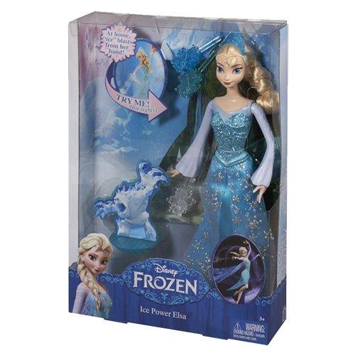 Mattel Disney Princess CGH15 - Modepuppenzubehör - Die Eiskönigin Eiszauber Elsa (Disney Princess Kronen)
