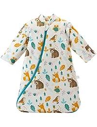 Baby Winter schlafsack Kinder schlafsack 3.5 Tog Schlafsaecke aus Bio Baumwolle Verschiedene Groessen von Geburt bis 4 Jahre alt