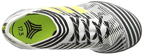 adidas Nemeziz Tango 17.3 Tf J, Chaussures de Football Garçon Blanc