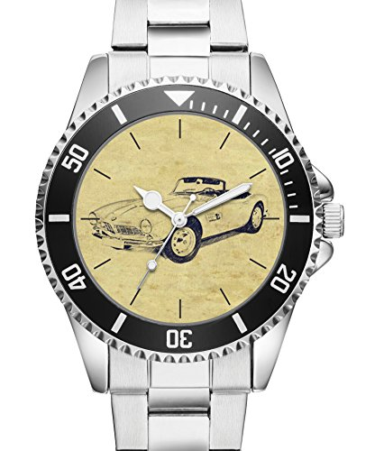 KIESENBERG® Uhr 6202 mit Auto Motiv für BMW 507 Fahrer (Cap 507)
