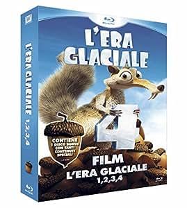 L'Era Glaciale 1 - 4 + Bonus Disc (Cofanetto 4 Blu-Ray)