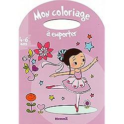 Mon coloriage à emporter : 4-6 ans fille
