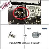 M.2 NVMe SSD Abstandshalter und Schraube für Motherboards - ASUS Acer Dell HP MSI Toshiba Adata Crucial Samung