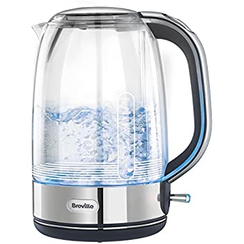how to clean a breville glass kettle