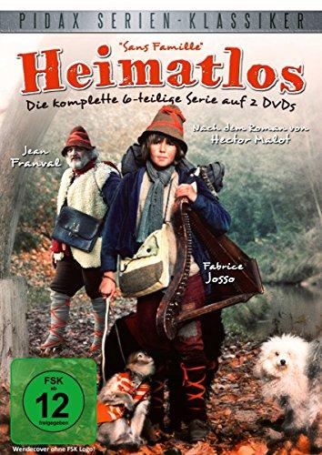 Bild von Heimatlos (Sans Famille) - Die komplette 6-teilige Abenteuerserie nach dem Roman von Hector Malot (Pidax Serien-Klassiker) [2 DVDs]