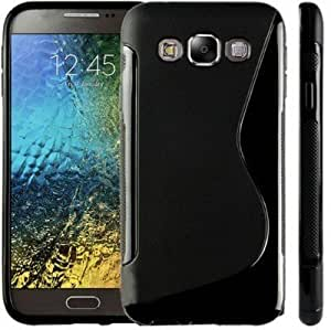 OPUS S Line Silicon Back Cover FOR Samsung Galaxy E5 (PACK OF 2)
