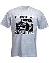 T-Shirt Homme Ne grandis pas, achète de plus gros jouets 4x4