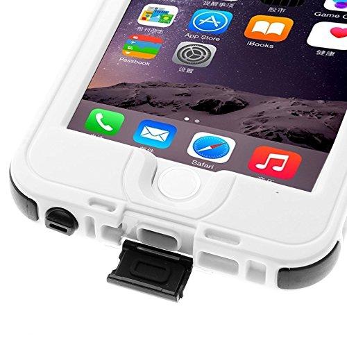 Phone Case Coque cover, Pour iPhone 6 Plus / 6s Plus, Link Dream Housse de protection imperméable à l'eau avec lanière ( Color : Yellow ) White