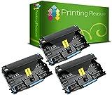 3X Trommeleinheit kompatibel zu Brother DR2200 für Brother DCP-7055 DCP-7060D DCP-7065DN HL-2130 HL-2132 HL-2240 HL-2240D HL-2250DN HL-2270DW MFC-7360N MFC-7860DW FAX-2840 - Schwarz, hohe Kapazität
