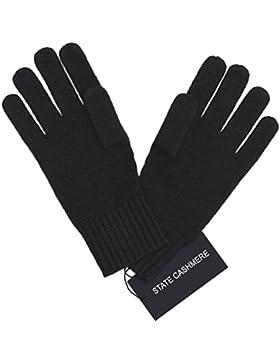State Cashmere Guanti in puro cachemire 100%, design Cable Knit - Ultimate morbido e caldo