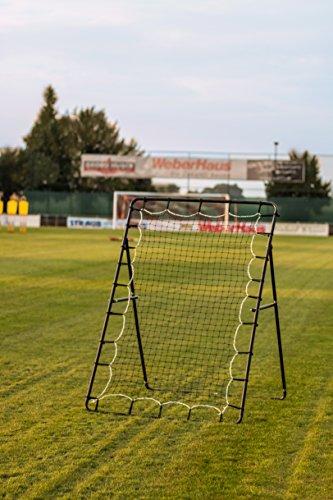 CARRINGTON® Fußball Rebounder / Rückprallwand 2,5 x 2m, Perfektes Trainingszubehör für verschiedenen Sportarten