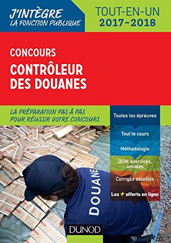 Concours Contrleur des douanes 2017-2018 - Tout-en-un