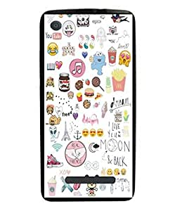 Techno Gadgets back Cover for Micromax Canvas Juice 4G Q461