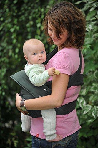 Marsupi Babytrage 144-44-59-001 Baby und Kindertrage, anthrazit - 4
