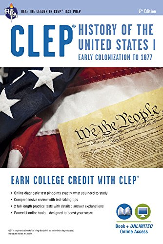 clepr-history-of-the-us-i-book-online-clep-test-preparation