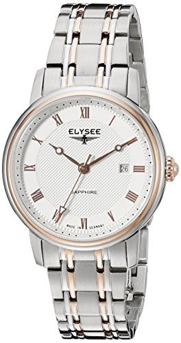 Elysee 77009 - Reloj de pulsera Mujer, acero inoxidable, color Plata